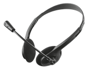 Trust Primo Chat Headset for PC and Notebook, Retail Box , 1 year Limited Warranty