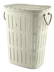 Totally Rope Laundry Basket – Beige Retail Box No Warranty