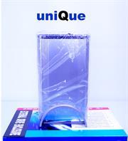 UniQue 3,5 InchExternal Hard Drive Enclosure SATA2 , USB 2,0 , E Sata, Silver, Retail Box, 1 year warranty