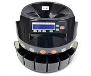 Postron /Casey Coin Counter with 216 coins/min speed; 300 to 500 coin Loading tray, 100coins storage each compartment; , Retail Box , 1 year Limit warranty