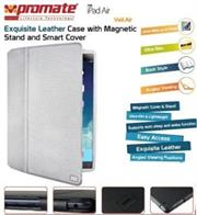Promate Veil-Air Ultra Slim Promate Protective with Stand Function for iPad Air, White, Retail Box, 1 Year Warranty