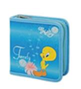Tweety 40 CD Wallet Colour: BLUE, Retail Box , No warranty