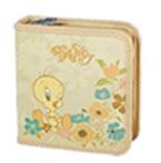Tweety 40 CD Wallet Colour::CREAM, Retail Box , No warranty