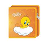 Tweety 40 CD Wallet Colour::ORANGE, Retail Box , No warranty