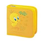 Tweety 40 CD Wallet Colour::YELLOW, Retail Box , No warranty
