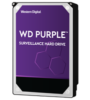 Western Digital Purple – 10.0TB 3.5″ SATA3 6.0Gbps Surveillance HDD, Intellipower™ Speed Management, 256MB Cache, 150MB/s Host to/from (Sustained), AllFrame, HD Video Optimised, , 2 year warranty