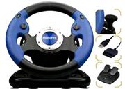 FlashFire 3 in 1 Pro Wheel with Pedals for PS2/PS3/ PC Vibration Feedback, , Retail Box, 6 months warranty