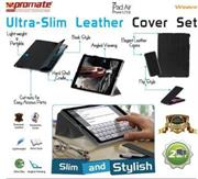 Promate Weave Ultra-Slim Leather Cover Set for iPad Air & iPhone 5/5s , Retail Box , 1 Year Warranty