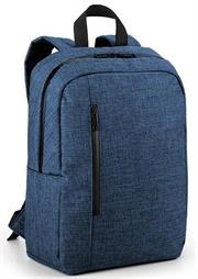 Macaroni Lightweight Multipurpose Notebook and Tablet Backpack – Dual Compartments For Notebooks And Laptops Up To 15.6 Inch and Tablet PC up to 10 Inch, Durable resistant Polyester Fabric, Padded Shoulder Straps And Back, Two Zippered Compartments, Dual Exterior Side Pockets Colour:Blue, Poly Bag, 1 year Limited Warranty