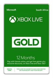 Xbox Live Gold 12 Months, Digital Code, No Warranty on Vouchers