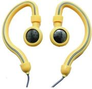Geeko Innovate Hook On Ear Dynamic Stereo Earphones – Impedance: 32 Ohms @1KHz , Frequency Response: 20-20,000Hz , Maximum Power Input: 0.05w , Sensitivity: 105dB/mW , Jack: 3.5mm , Length of Cable: 1.2m – Ceam , Retail Box , 1 year Limited Warranty
