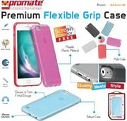 Promate Akton-i6 Multi-colored flexi-grip designed case for iPhone 6 Colour: Black, Retail Box , 1 Year Warranty