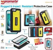 Promate Armor-i6 Rugged & Impact Resistant Protective Case For iPhone 6 Colour:White, Retail Box , 1 Year Warranty