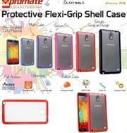 Promate Amos N3 Protective flexi-grip designed shell case for Samsung Note 3 Colour:Red, Retail Box , 1 Year Warranty