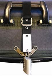 Esquire Anti-Theft Luggage Zipper Strap, Retail Box, 1 year Limited Warranty
