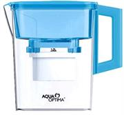 Aqua Optima Water Jug with Filter-2.1 Litre Water Capacity without Filter 1.2 Litre Water Capacity with Filter- Blue Retail Box 1 year warranty