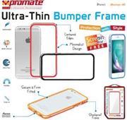 Promate Bump-i6 Ultra-Thin Bumper Case For iPhone 6 Colour: Blue, Retail Box , 1 Year Warranty