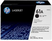 HP Original Replacement for HP 61A C8061A Black LaserJet Toner Cartridge-Page Yield 6000 Pages with 5% Coverage For Use with HP LaserJet 4100, 4100DTN, 4100MFP, 4100N, 4100TN, 4101MFP, Retail Box , No Warranty