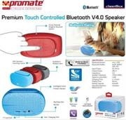 Promate cheerBox Premium Touch controlled Bluetooth® V4.0 Speaker-Maroon , Retail Box, 1 Year Warranty