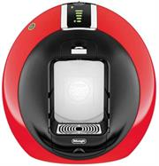 Delonghi (EDG605 RED) Nescafe Dolce Gusto Circolo Coffee Machine – Red – 15 bar automatic pressure regulation, Thermoblock heating system – no preheating, On/off switch with LED ( green /red), Built-in LED that illuminates your coffee with a stylish blue light, Flow stop function, New wheel interface to set the coffee length, Stop safety device, without capsule holder no water delivery, Removable water reservoir (1,3L), Drip tray height adjustable with stainless steel cover for any size cups and glasses (dishwasher safe), Auto standby mode after 5 minutes, Easy introduction of capsules, Retail Box, 2 year warranty