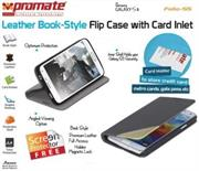 Promate Folio S5 Bookcover with inside card pocket Colour: Grey, Retail Box , 1 Year Warranty