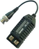 Securnix Video Ground Loop Isolator, BNC male to terminal block with 15cm mini coax cable., ,