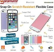Promate Grosso-i5 iPhone 5 Striped Flexi-Grip Snap Case for iPhone 5/5S Colour: Green Snap-On Scratch-Resistant Flexible Case, securely fit for iPhone 5/5S,Fun and flexible case for iPhone 5/5s, GROSSO.i5 brings colors to life. Featuring a secure snap-on back shell design that enhances the look of your iPhone, whilst protecting it from daily scruffs and scratches. Its scratch resistant surface leaves your case looking good as new. Its custom design allows complete access to all the ports and buttons on your iPhone. GROSSO.i5, a case that brings colour to your life. , Retail Box , 1 Year Warranty