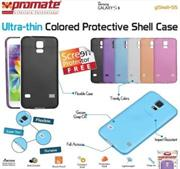Promate Gshell S5 Ultra-thin Colored Protective Shell Case for Samsung Galaxy S5 Colour:Black , Retail Box , 1 Year Warranty