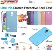 Promate Gshell S5 ,Ultra-thin Colored Protective Shell Case for Samsung Galaxy S5 Colour:Blue, Retail Box , 1 Year Warranty