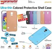 Promate Gshell S5 Ultra-thin Colored Protective Shell Case for Samsung Galaxy S5 Colour:Orange, Retail Box , 1 Year Warranty