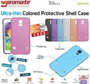 Promate Gshell S5 Ultra-thin Colored Protective Shell Case for Samsung Galaxy S5 Colour:Pink, Retail Box , 1 Year Warranty
