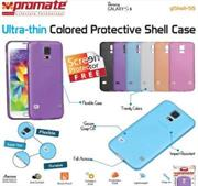 Promate Gshell S5 Ultra-thin Colored Protective Shell Case for Samsung Galaxy S5 Colour:Purple, Retail Box , 1 Year Warranty