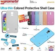 Promate Gshell S5 Ultra-thin Colored Protective Shell Case for Samsung Galaxy S5 Colour:White, Retail Box , 1 Year Warranty