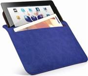 Promate iSleeve.2 iPad premium protective horizontal shamwa leather case with extra pocket,Flip cover magnetic lock for device loading security,Slim and classic horizontal cover-up,Colour:, Retail Box, 1 Year Warranty