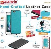 Promate Lanko-i6 Leather Flexible Snap-on Case – Pink, Retail Box , 1 Year Warranty