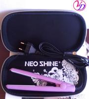 Casey NeoShine Mini Hair Straightener – Ceramic Plates, Travel Pack, High heat, Fast heat-up, High heat delivers salon results, Fits in your handbag, the ultimate travel accessory, Heat: 140-180 degrees, Retail Box, Gentle on hair, 6 Months Warranty