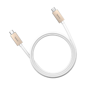 Apacer DC120 USB 3.1 Type-C to Type-C Cable – White, Retail Box, No Warranty