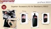 Promate Propack.9900 Blackberry 9900 Kit, Retail Box , 1 Year Warranty