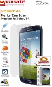 Promate Proshield.S4-C Samsung Galaxy S4 Screen Protector, Retail Box , 1 Year Warranty