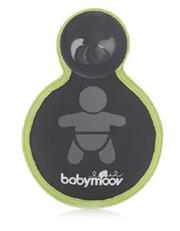 Babymoov Baby On Board Car Sign – for baby's safety in the car, day and night, Visible at day and night due to the use of a phosphorescent system, One side for 'mum to be' and the other for 'baby on board', Easy and stable fastening system, Retail Box, Out of Box Failure Warranty