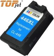 TopJet Generic Replacement Tri Colour Ink Cartridge for Canon CL446XL-Single Tri-Colour Cartridge, Page Yield 300 Pages with 5% Coverage for use with Canon iP2840, MG2440, MG2540, MG2540S, MG2545S, MG2940, MG3040, MX494, TS3140, Retail Box , No Warranty