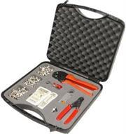 Goldtool 37 Piece Universal LAN / CCTV Kit, Retail Box, 1 Year waranty