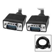 UniQue 15 PIN Standard Male To Male VGA Cable-50M, OEM, No Warranty