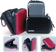 Promate Volcan-Aluminium Finish Camera Case with Inner Bubble Pad Protector-Black, Retail Box , 1 Year Warranty